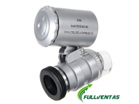 MICROSCOPIO 60X CON LUZ LED